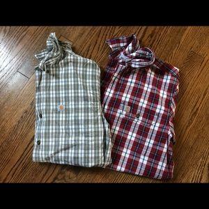 CARHARTT short sleeve shirt bundle